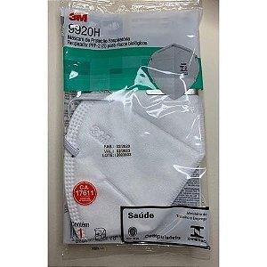 máscara 9920H 3m hospitalar n95 pff2. pode reutilizar embaladas individualmente original 3m com registro na anvisa