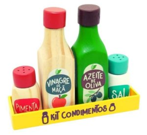 Kit Condimentos 3+