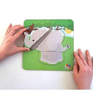Quebra Cabeça Baby Elefante - 1+