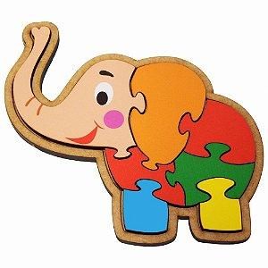 Quebra-Cabeça Elefante -2+