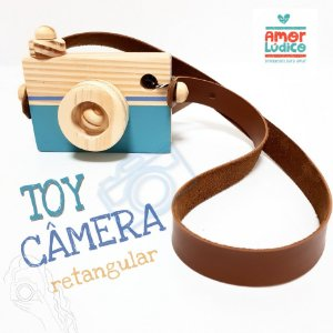 Toy Câmera Retangular - 2+