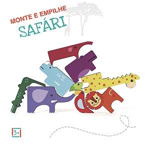 Monte e Empilhe Safari - 3+
