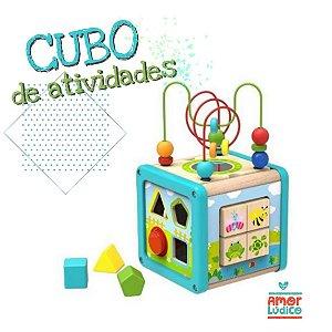 Cubo De Atividades - 18m+