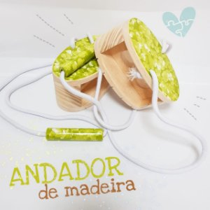 Andador de Madeira - 3+