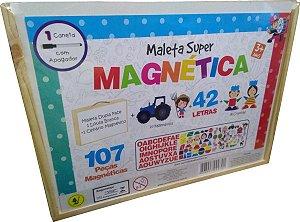 MALETA SUPER MAGNETICA 107 PÇAS - 3+