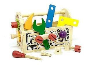 Gire e crie caixa de ferramentas 3+