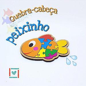 QUEBRA CABEÇA PEIXE - 2+