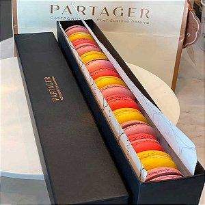 Caixa Presente - Macarons Partager