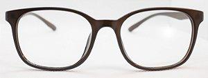 Armação Para Óculos De Grau Chilli Beans Feminino Multi 2 Em 1 Polarizado Marrom