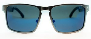 Óculos de Sol Masculino Chilli Beans Esporte Cinza Escuro