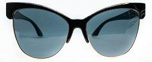 Óculos De Sol Feminino Chilli Beans Elvis Presley Preto