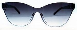 Óculos de Sol Feminino Chilli Beans Gatinho Prata Espelhado