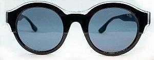 Óculos de Sol Feminino Chilli Beans Redondo Preto