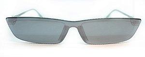 Óculos de Sol Feminino Chiili Beans Quadrado Cinza