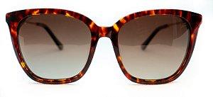 Óculos de Sol Feminino Chiili Beans QuadradoTartaruga