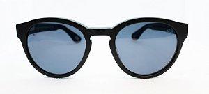 Óculos de Sol Unissex Chiili Beans Redondo Preto