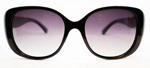Óculos de Sol Feminino Chiili Beans Quadrado Preto
