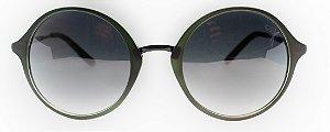 Óculos De Sol Feminino Chilli Beans Redondo Verde