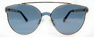Óculos de Sol Feminino Chilli Beans Redondo Dourado