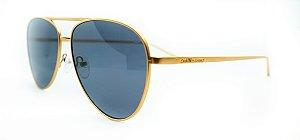 Óculos de Sol Feminino Chilli Beans Aviador Dourado