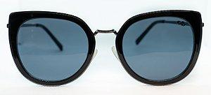 Óculos De Sol Feminino Chilli Beans Gatinho Ônix