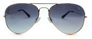 Óculos de Sol Feminino Chilli Beans Aviador Preto Rosê