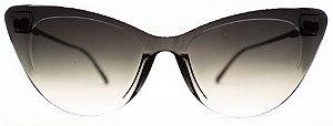 Óculos de Sol Feminino Chilli Beans Gatinho Preto Espelhado