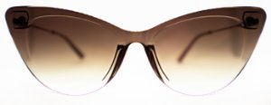 Óculos de Sol Feminino Chilli Benas Alok Gatinho Rosê
