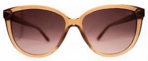 Óculos de Sol Feminino Chilli Beans Redondo Marrom