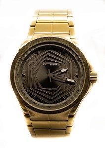 Relógio Chilli Beans Analógico Masculino Metal Dourado