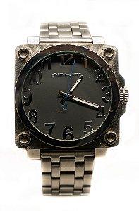 Relógio Chilli Beans Digital Masculino Metal Prata