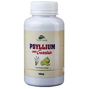 Psyllium com Garcinia - 100 Caps de 500Mg (Kits)