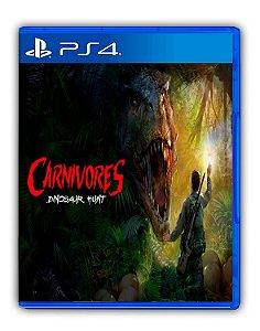 Carnivores Dinosaur Hunt PS4 Mídia Digital