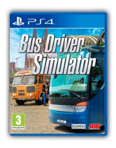 Bus Driver Simulator PS4 Mídia Digital