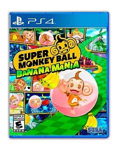 Super Monkey Ball Banana Mania PS4 Mídia Digital