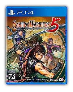 SAMURAI WARRIORS 5 PS4 Mídia Digital