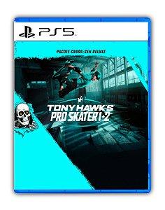 Tony Hawks Pro Skater 1 + 2 - Pacote Cross-Gen Deluxe PS5 Mídia Digital