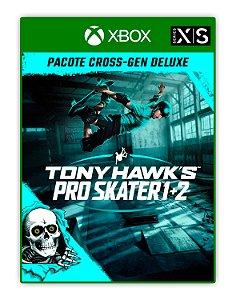 Tony Hawks Pro Skater 1 + 2 - Pacote Cross-Gen Deluxe Xbox One Mídia Digital