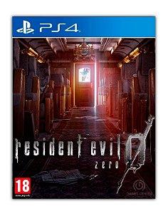 Resident Evil 0 PS4 Mídia Digital