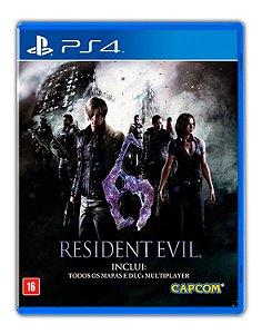 Resident Evil 6 PS4 Mídia Digital