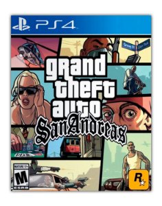 Grand Theft Auto San Andreas PS4 Mídia Digital