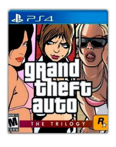 Grand Theft Auto: The Trilogy PS4 Mídia Digital