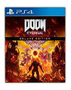 DOOM Eternal Edição Deluxe PS4 Mídia Digital