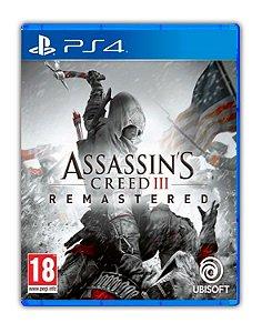 Assassin's Creed 3 III: Remastered PS4 Mídia Digital