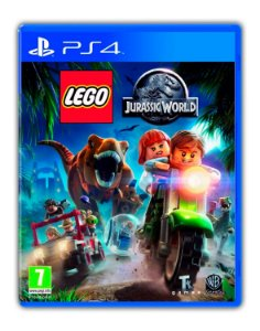 LEGO Jurassic World O Mundo Dos Dinossauros PS4 Mídia Digital