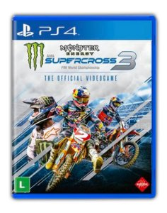 Monster Energy Supercross - The Official Videogame 3 PS4 Mídia Digital