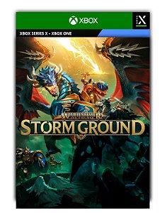 Warhammer Age of Sigmar: Storm Ground Xbox One Mídia Digital