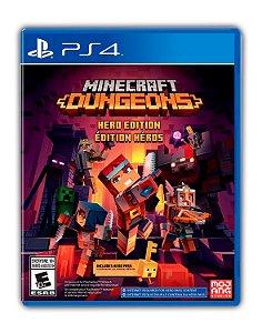 Minecraft Dungeons PS4 Mídia Digital