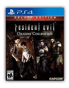 Resident Evil: Deluxe Origins Bundle PS4 Mídia Digital