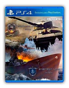 Strategic Mind Bundle: Blitzkrieg & The Pacific PS4 Mídia Digital